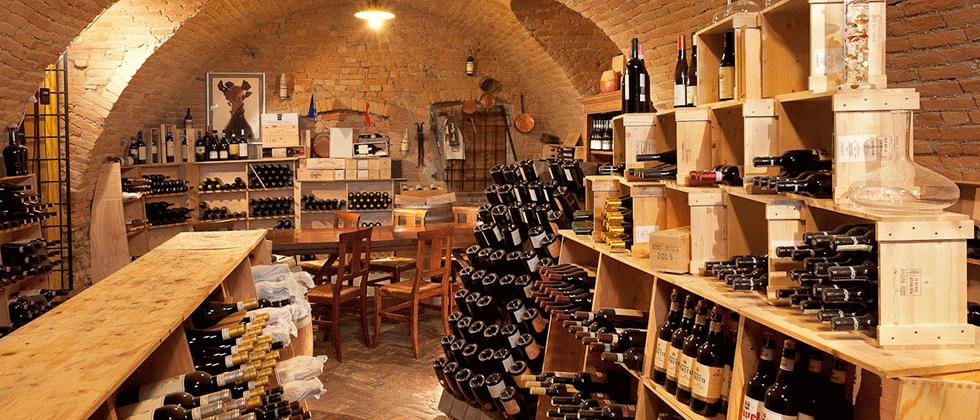 La cantina personale come scegliere i vini il vino il for Piani di casa rustici con cantina
